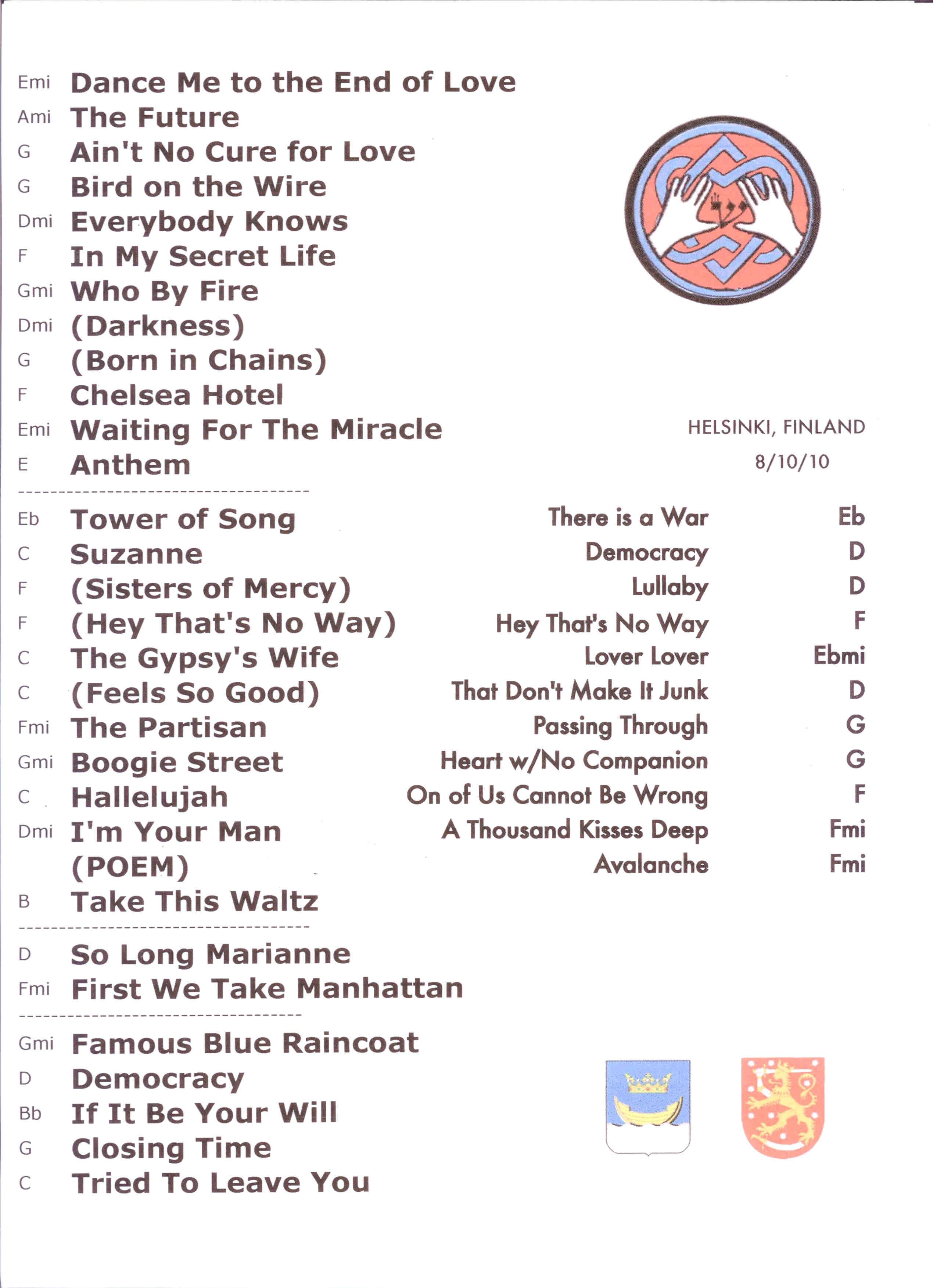 Jeezy Tour Setlist