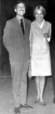 Marianne and leonard cohen