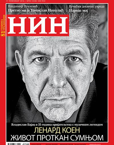 Leonard Cohen 1934-2016 Nin