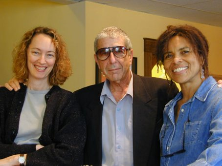 Leanne, Leonard & Sharon at Bob Ludwig's Mastering Studio in Portland, Maine