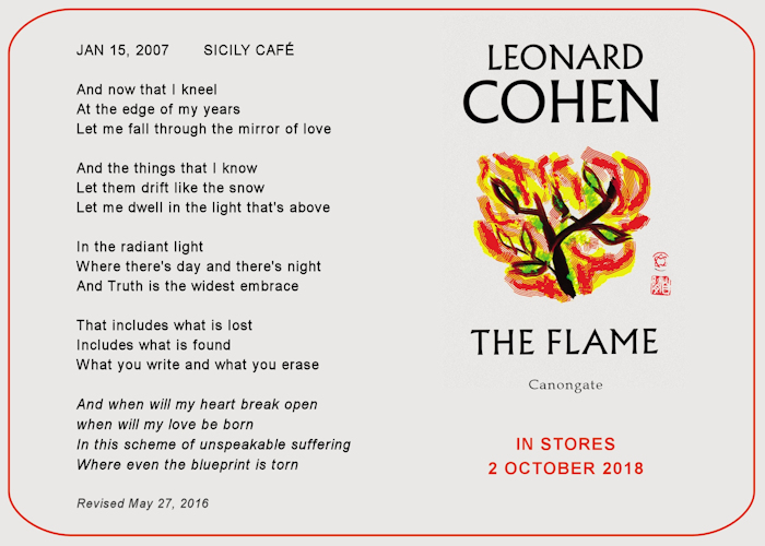 The Leonard Cohen Files
