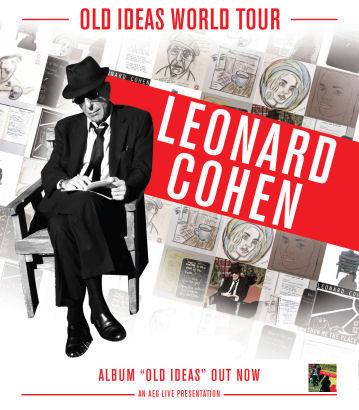 Leonard Cohen: Leonard Cohen's Old Ideas Tour 2012-2013 - Index